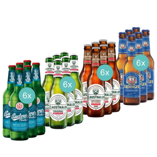 non-alcoholic beer tasting pack